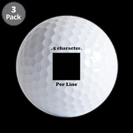 customdesign Golf Balls