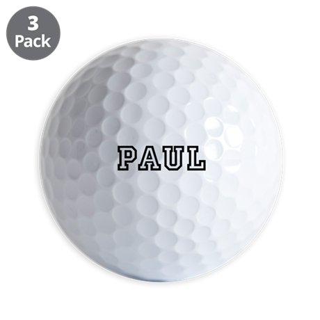 Personalzied Name Golf Balls
