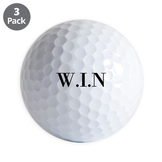 Personalized initials golf ball