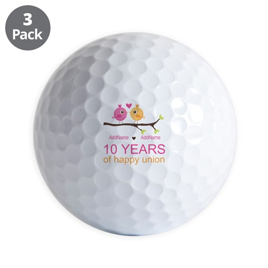 10th Anniversary Personalized