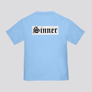 ad433213 Sinner Toddler T-Shirts - CafePress