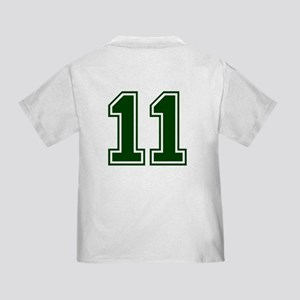 NUMBER 11 FRONT Toddler T-Shirt