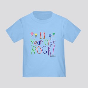 11 Year Olds Rock ! Toddler T-Shirt