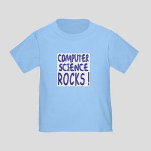 Computer Science Rocks ! Toddler T-Shirt