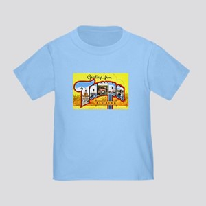 Tampa Florida Greetings Toddler T-Shirt