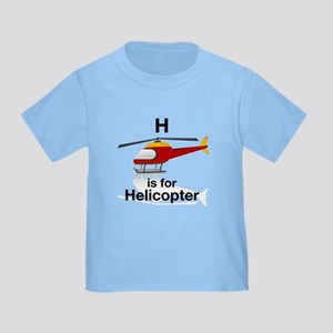 H is for Helicopter Toddler T-Shirt