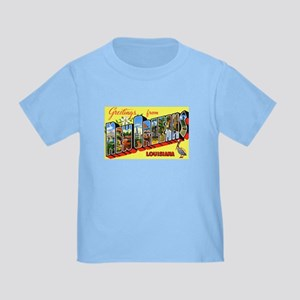 New Orleans Louisiana Greetings Toddler T-S