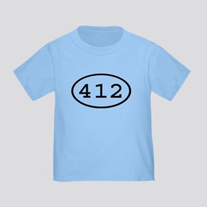 412 Oval Toddler T-Shirt