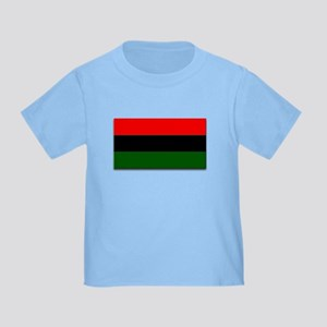 Red Black and Green Flag Toddler T-Shirt