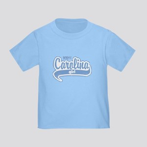 """100% Carolina Girl"" Toddler T-Shirt"
