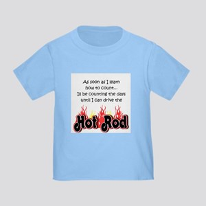 Hot Rod Baby Count Toddler T-Shirt