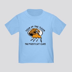 Naughty Year of The Tiger Women's Toddler T
