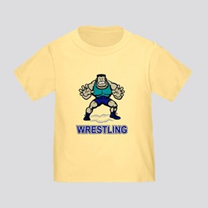Funny Wrestling Toddler T-Shirt