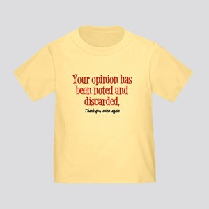 Opinion Toddler Tee