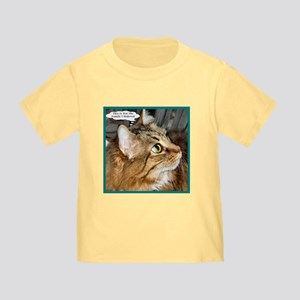Maine Coon Cat Toddler T-Shirt