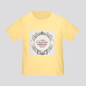 Framed Chocolate Toddler T-Shirt
