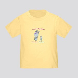 Big Sister Little Brother Toddler T-Shirt