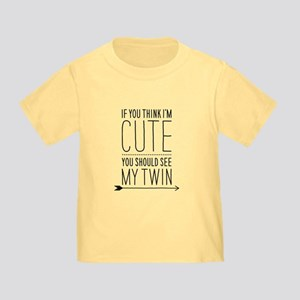 909f4e9a4 If You Think (right Arrow) Toddler T-Shirt