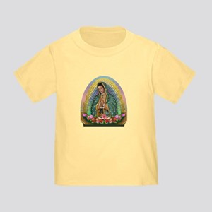 Guadalupe Yellow Aura Toddler T-Shirt