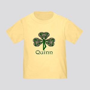 Quinn Shamrock Toddler T-Shirt