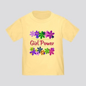152aab2a Girl Power Toddler T-Shirts - CafePress