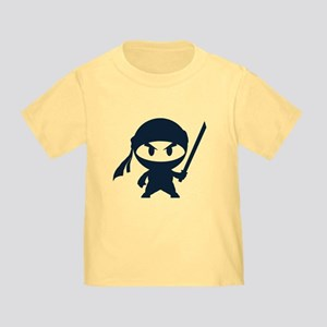 Angry ninja Toddler T-Shirt