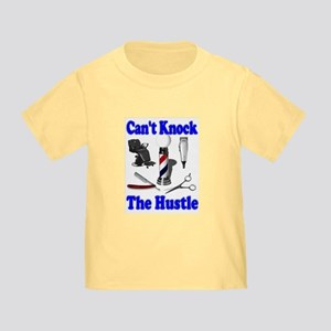 Cant Knock The Hustle-Blue Toddler T-Shirt