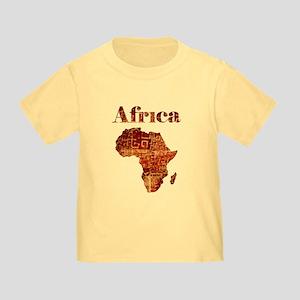 Ethnic Africa Toddler T-Shirt