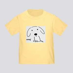 Little Woof Toddler T-Shirt