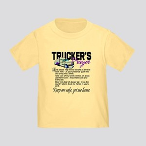Trucker's Prayer Toddler T-Shirt