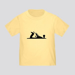 Hand Plane Silhouette Toddler T-Shirt