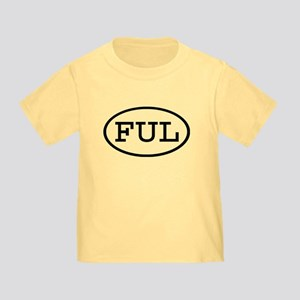 FUL Oval Toddler T-Shirt