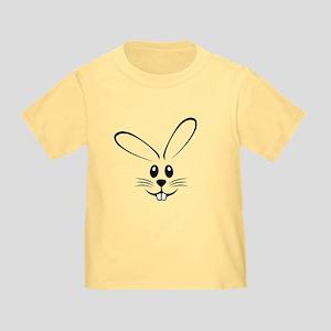 Rabbit Face Toddler T-Shirt