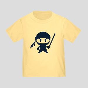 Angry ninja Toddler T-Shirt