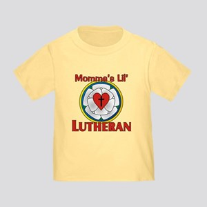 Momma's Lil' Lutheran Toddler T-Shirt