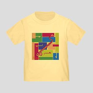 Bass Clarinet Colorblocks Toddler T-Shirt