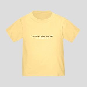 Dad's a Geek Toddler T-Shirt