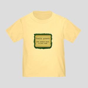 FamilyGrowth Toddler T-Shirt