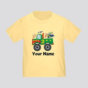 Personalized 2nd Birthday Monster Truck Toddler T-