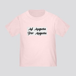 """Ad Augusta Per Angusta"" Toddler T-Shirt"