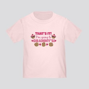 That's it! I'm going to Grammy's! Toddler T-Shirt