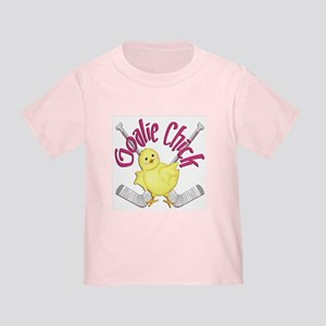 Goalie Chick Toddler T-Shirt