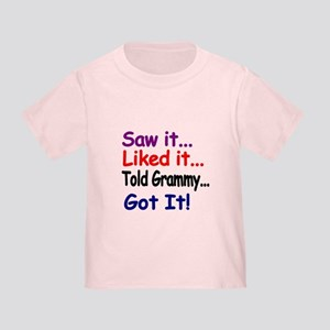 aba1deaf Funny Baby Girl Toddler T-Shirts - CafePress