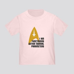 Star Trek - Normal Parameters Toddler T-Shirt