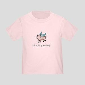 Flying Pig Toddler T-Shirt