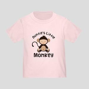 Auntie Monkey Toddler T-Shirt