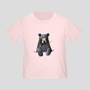Pocket Black Bear Toddler T-Shirt