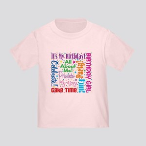 1st Birthday Princess Toddler T-Shirt