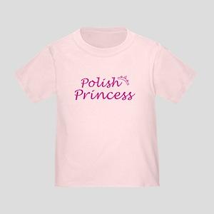 polish Princess Toddler T-Shirt