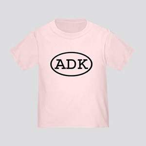 ADK Oval Toddler T-Shirt